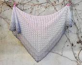 Crochet Cloth quot Grey Mouse quot