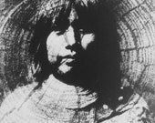 Tribal Daughter Original Solar Plate Etching