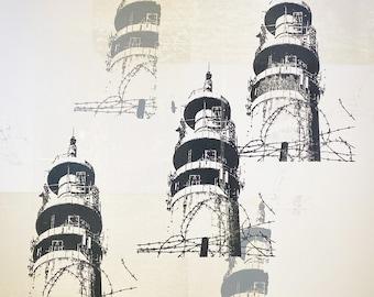 Heaton Park Tower Grey