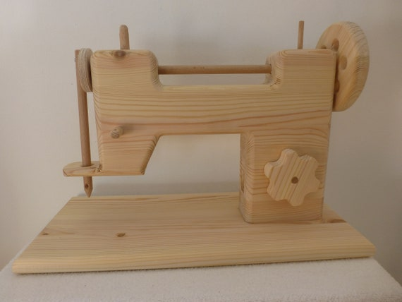 Holz Nähmaschine Kindernähmaschine | Etsy