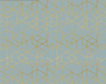 KNIT glitter jersey BTY Light Grey jersey knit fabric fabric by the metre Caterpillar tractor silver fabric bulldog metallic foil