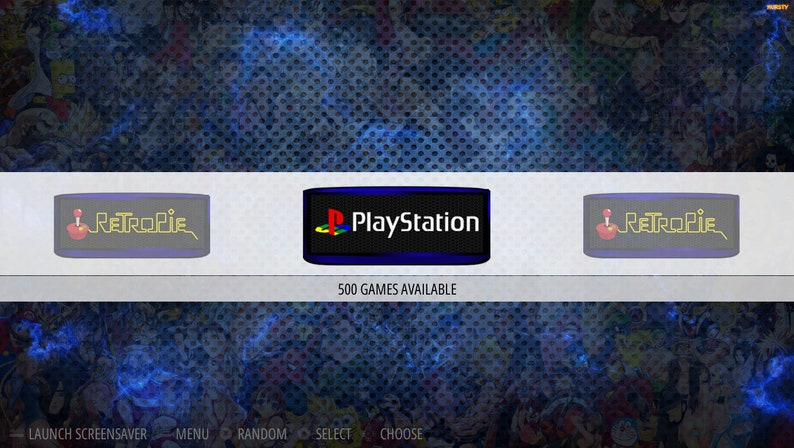 The Ultimate 256GB PS1 RetroPie