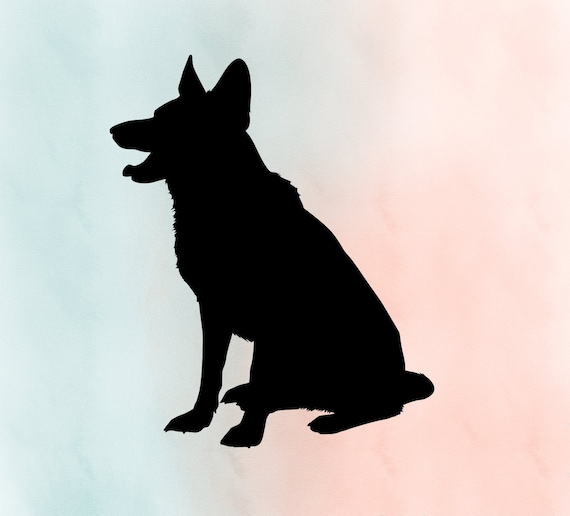Vintage Shepherd Dog svg Patter German Shepherd Dog svg