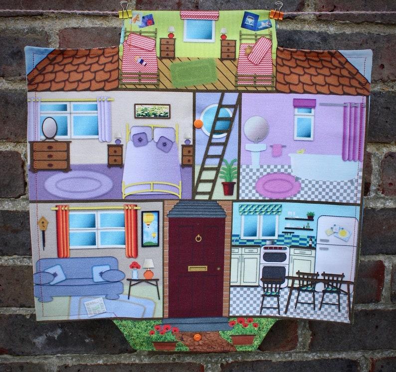 House Travel Play Mat Dolls House