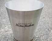Vintage French Nicolas Feuillatte Champagne Ice Bucket