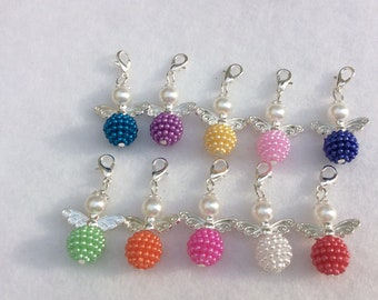 10 Pieces Lucky Charm Angel