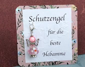 Lucky Charm Angel, Card, Organza Bag