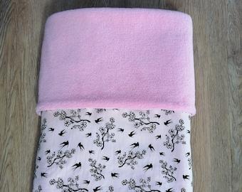 Wellness fleece blankets