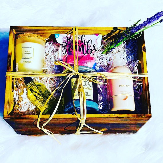 Spa Gift Box Gift For Him Gift For Her Birthday Gift Etsy