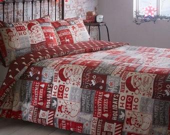 christmas festive christmas bdding set bedding set quilt duvet covers bedding set for all the family - Christmas Bedding Sets