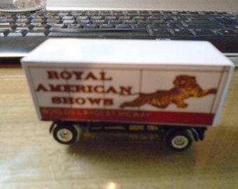 HO Scale Royal American Shows Clown wagon