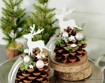 Weihnachten Tischdeko Etsy
