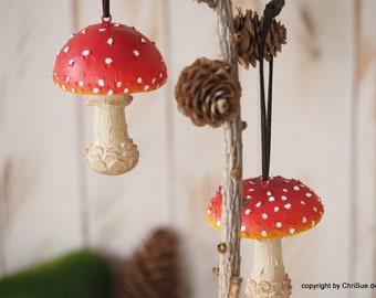 Mushrooms Pendant Set