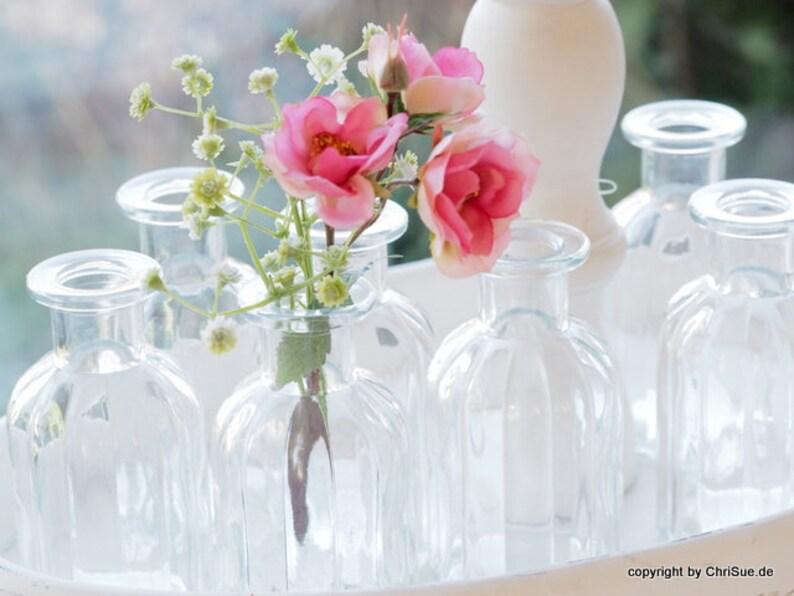 Flaschen Tischdeko 12 Stück