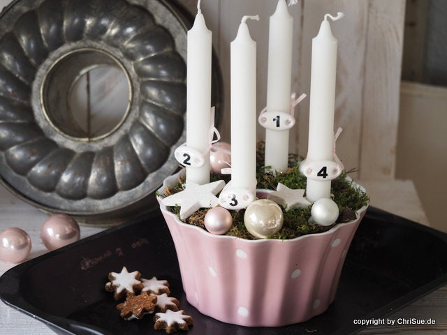 Advent wreath in a different way