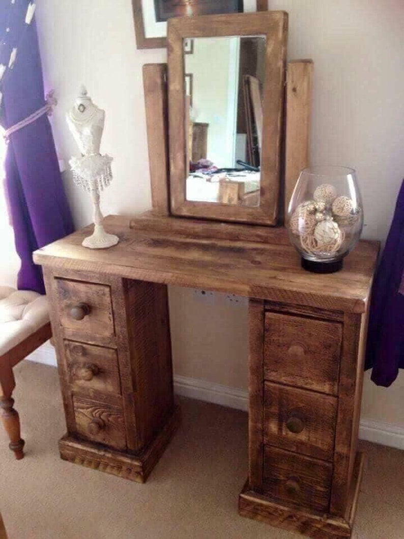sports shoes cab0a 59e5b Rustic Dressing Table