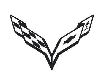 Corvette logo   Etsy