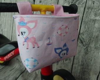 Handlebar bag for wheel and puky wutsch