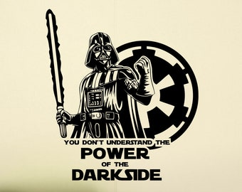 Power Of Dark Side Etsy