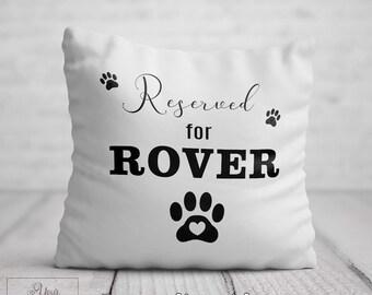 Paw Print Pillow Dog Lover Pillow Dog
