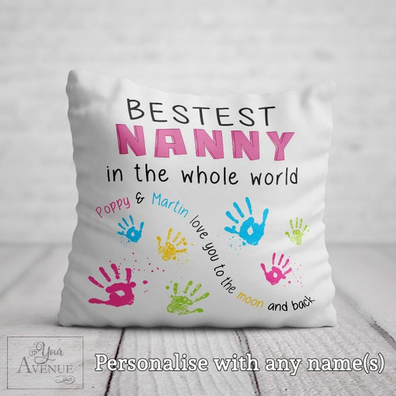 Mother/'s Day Gift Photo Print Grandma Nanna Nan Personalised Gran