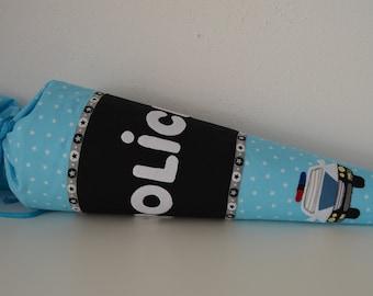Bag of fabric police