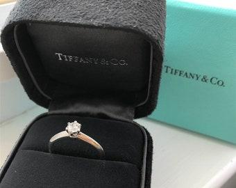 cbd7f3ff78b82 Tiffany ring | Etsy
