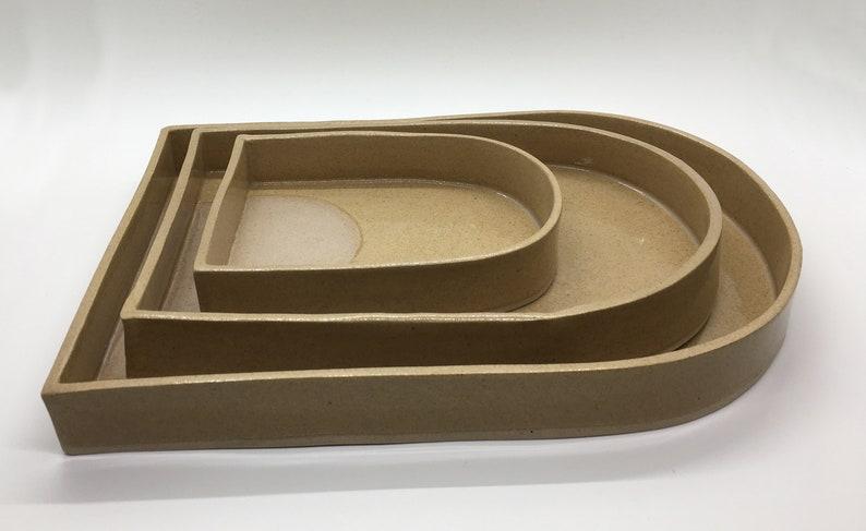Ceramic Nesting Trays Set of 3