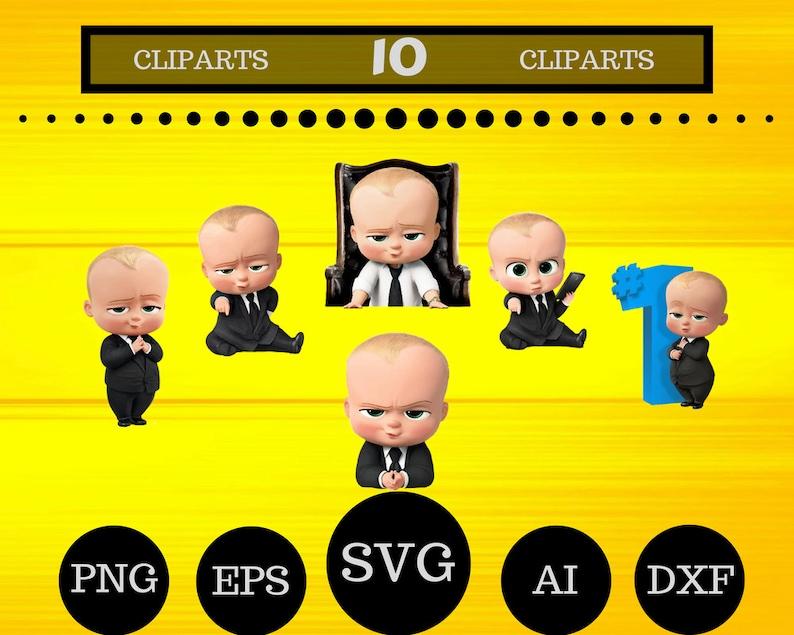 10 Baby Boss Clipart Baby Boss Svg Baby Boss Birthday Baby Boss Printable Baby Boss Decal Baby Boss Decor Baby Boss Shirt Baby Boss Vector