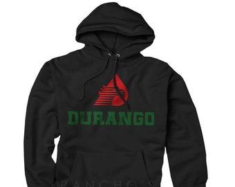 Durango Shirt Mexico Flag T-Shirt Green White Red Alacranes de S M L XL 2XL NEW
