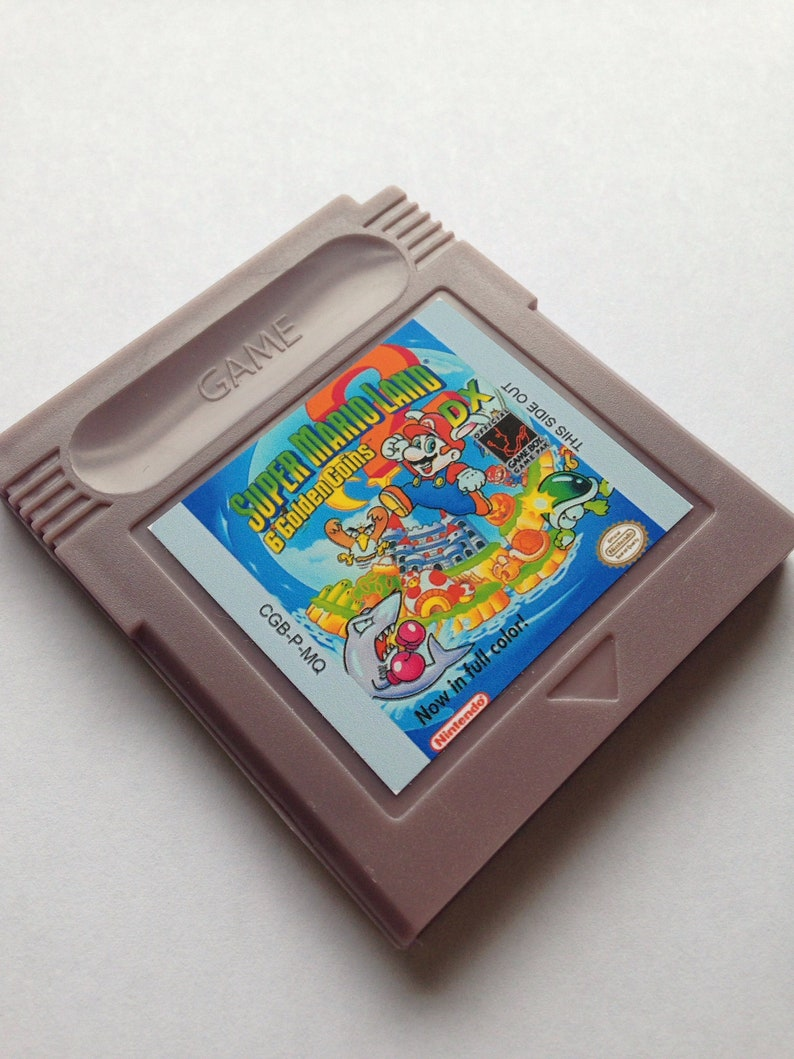 Super Mario Land 2 DX for Nintendo Gameboy Color