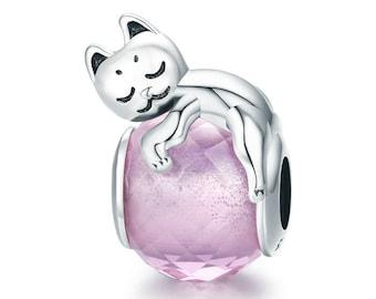 Pandora Cat Charm Etsy