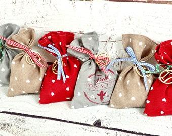 advent calendar / Filling advent calendar / Advent calendar Children / Advent calendar made of fabric / Advent calendar bag