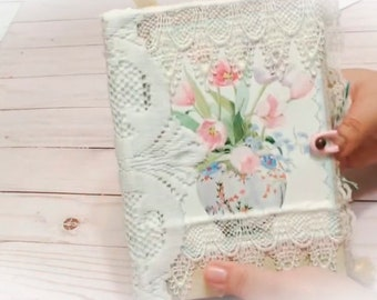 Shabby Chic Victorian Style Junk Journal