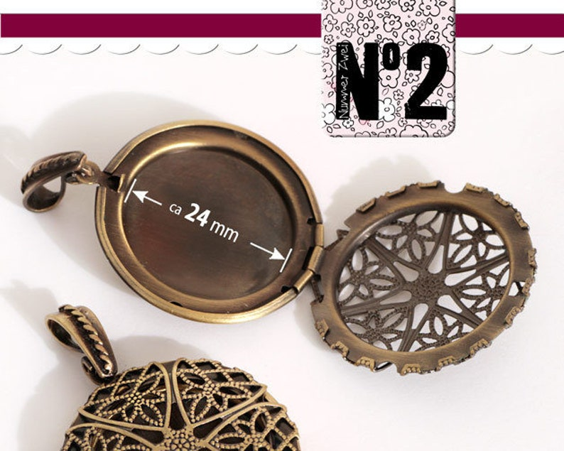 Measuring colours 1 medallion with trailer loop Fine ornamental pattern For unfolding # 082