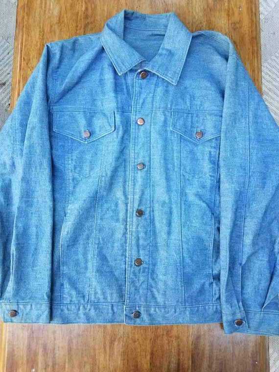 50's Denim Work Shirt