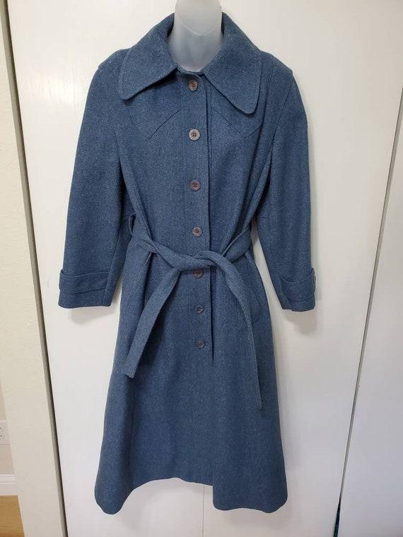 Vintage Union Made Western Wool Peacoat