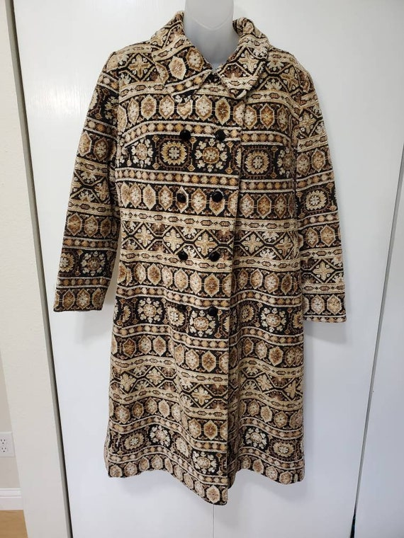 Vintage Tapestry Coat