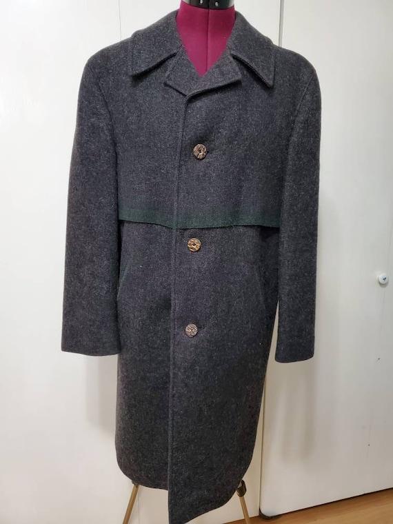 Vintage Baur Foradori Tyrol Wool Blanket Coat