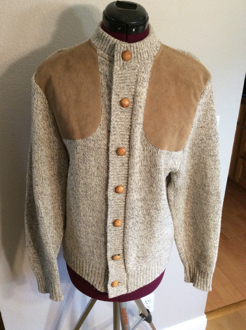 Vintage Cabella/'s Shooting Sweater