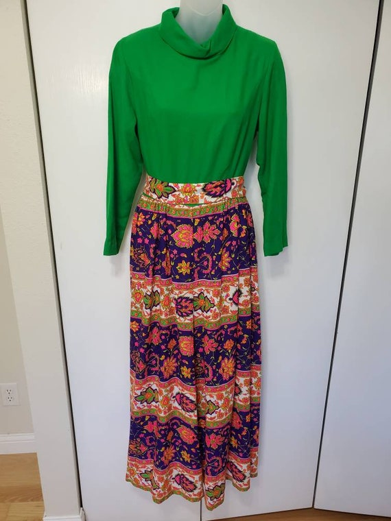 70's Loungecraft Psychedelic Jumpsuit