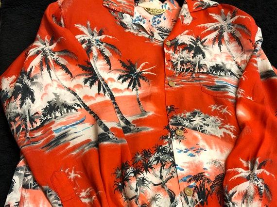 Special 40s 50s Supreme Condition Aloha Shirt Rayo