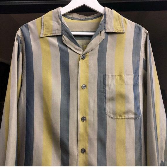 Special  50s vintage original silk  shirts  hawaia