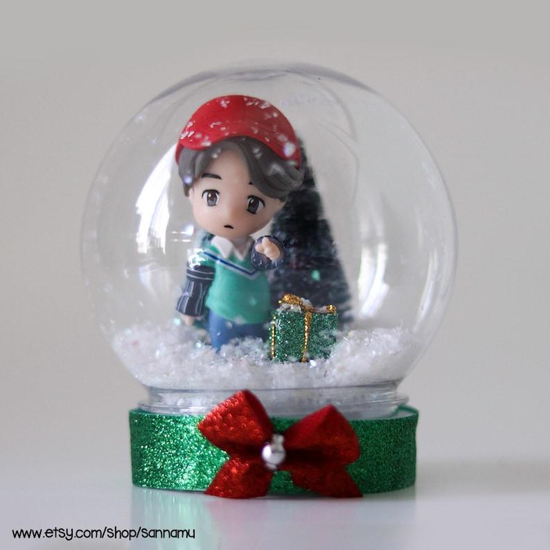 Preorder BTS Christmas Waterless Snow Globes IDOL IDOL - Jimin