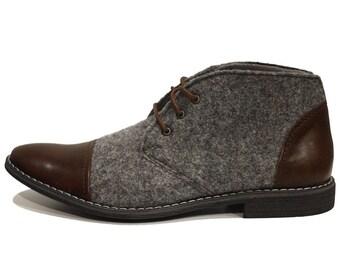 d0b4259d97cdd Men's Chukka Boots   Etsy