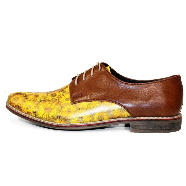 Handmade Colorful Italian Men Shoes Modello Seamson