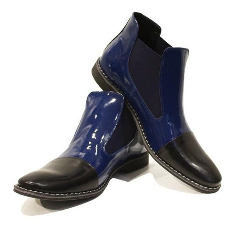 Modello Zaffiro Handmade Colorful Italian Men Shoes