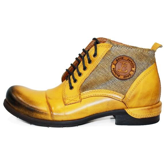 Modello Buecello Handgefertigt Italienische Schuhe Herren