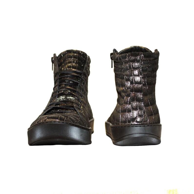 Handmade Men/'s Shoes Italian Leather Golden Modello Torello