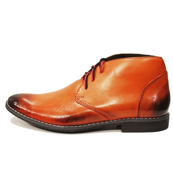 Modello Orango Handgefertigt Italienische Schuhe Herren